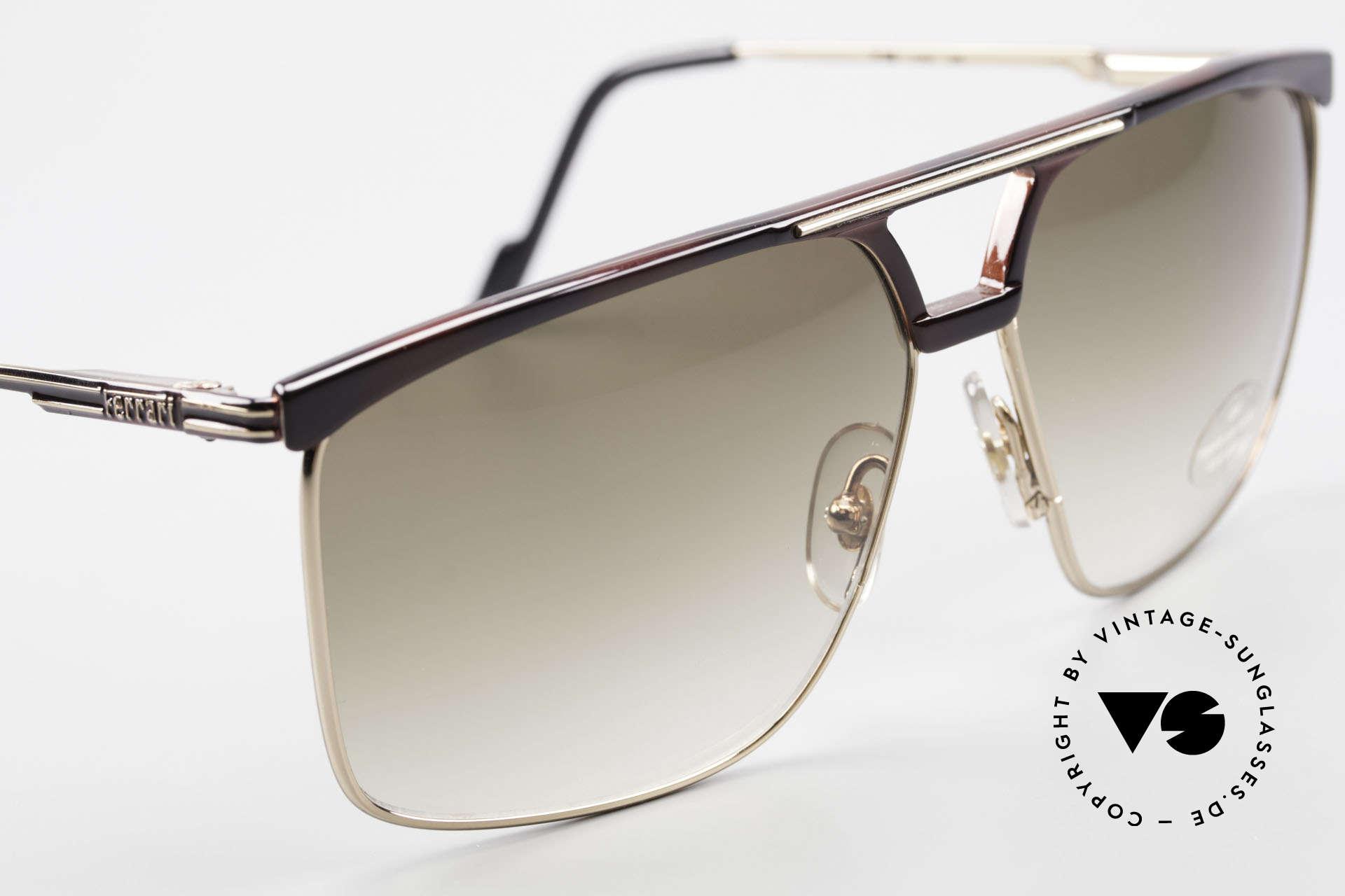 Ferrari F35 Alutanium Herrenbrille X-Large, KEINE Retro-Brille; sondern altes vintage Original, Passend für Herren