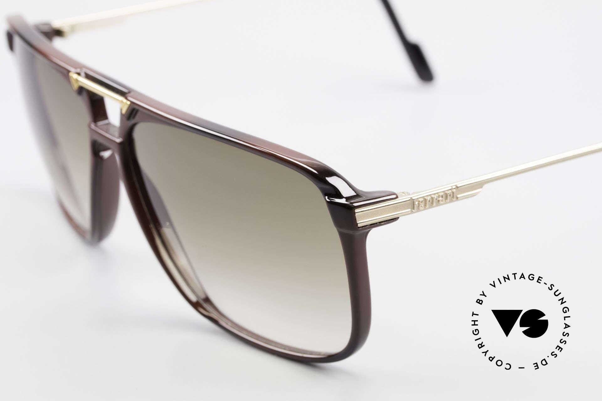 Ferrari F36/S Karbon Herren Sonnenbrille, begehrte vintage Brille d. FERRARI FORMULA Serie, Passend für Herren