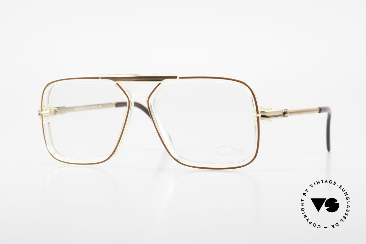 Cazal 630 Alte 80er Hip Hop Cazal Brille, seltenes Modell der ALTEN CAZAL 600er Serie, Passend für Herren