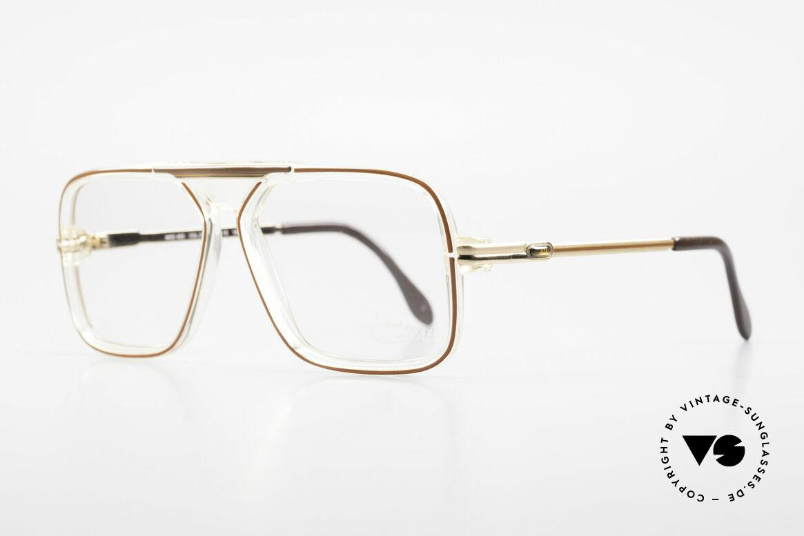 Cazal 630 Alte 80er Hip Hop Cazal Brille, Bestandteil der US HipHop-Szene in den 80ern, Passend für Herren