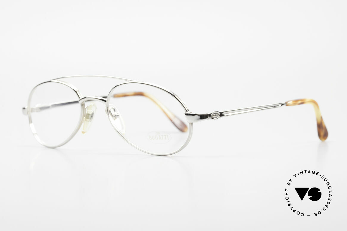 Bugatti 08104 80er Herren Vintage Brille, Federgelenke und Lackierung in höchster Qualität, Passend für Herren
