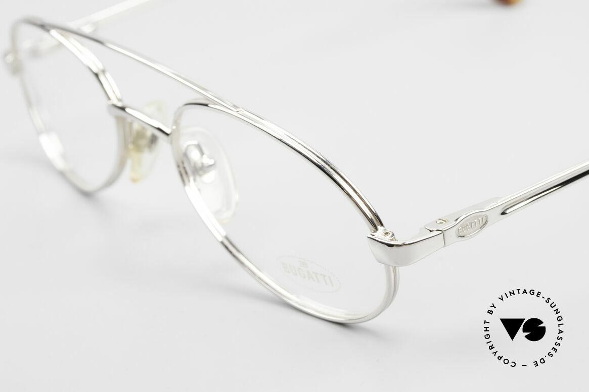 Bugatti 08104 80er Herren Vintage Brille, ungetragen (wie alle unsere Bugatti vintage Brillen), Passend für Herren