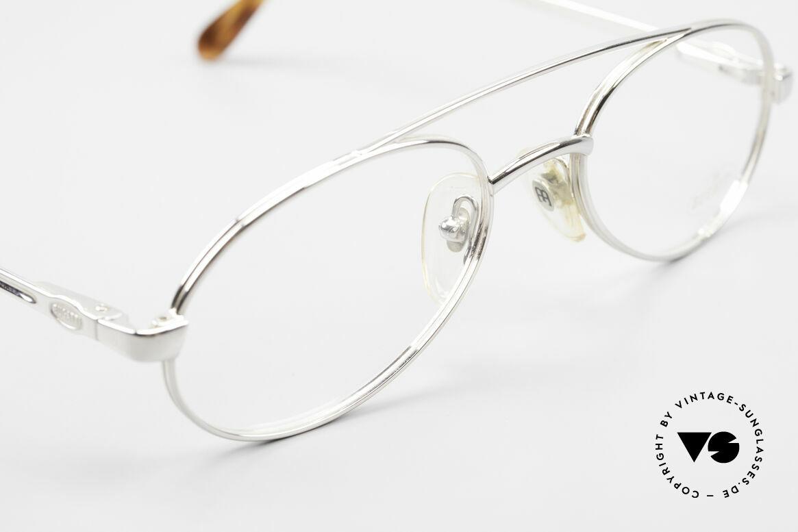 Bugatti 08104 80er Herren Vintage Brille, KEINE Retrobrille, sondern ein altes 80er Original, Passend für Herren