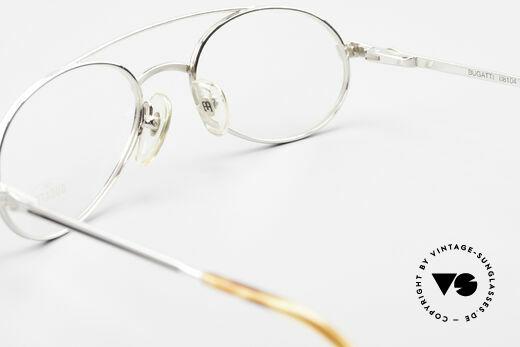 Bugatti 08104 80er Herren Vintage Brille, Einsatz von optischen Gläsern problemlos möglich, Passend für Herren