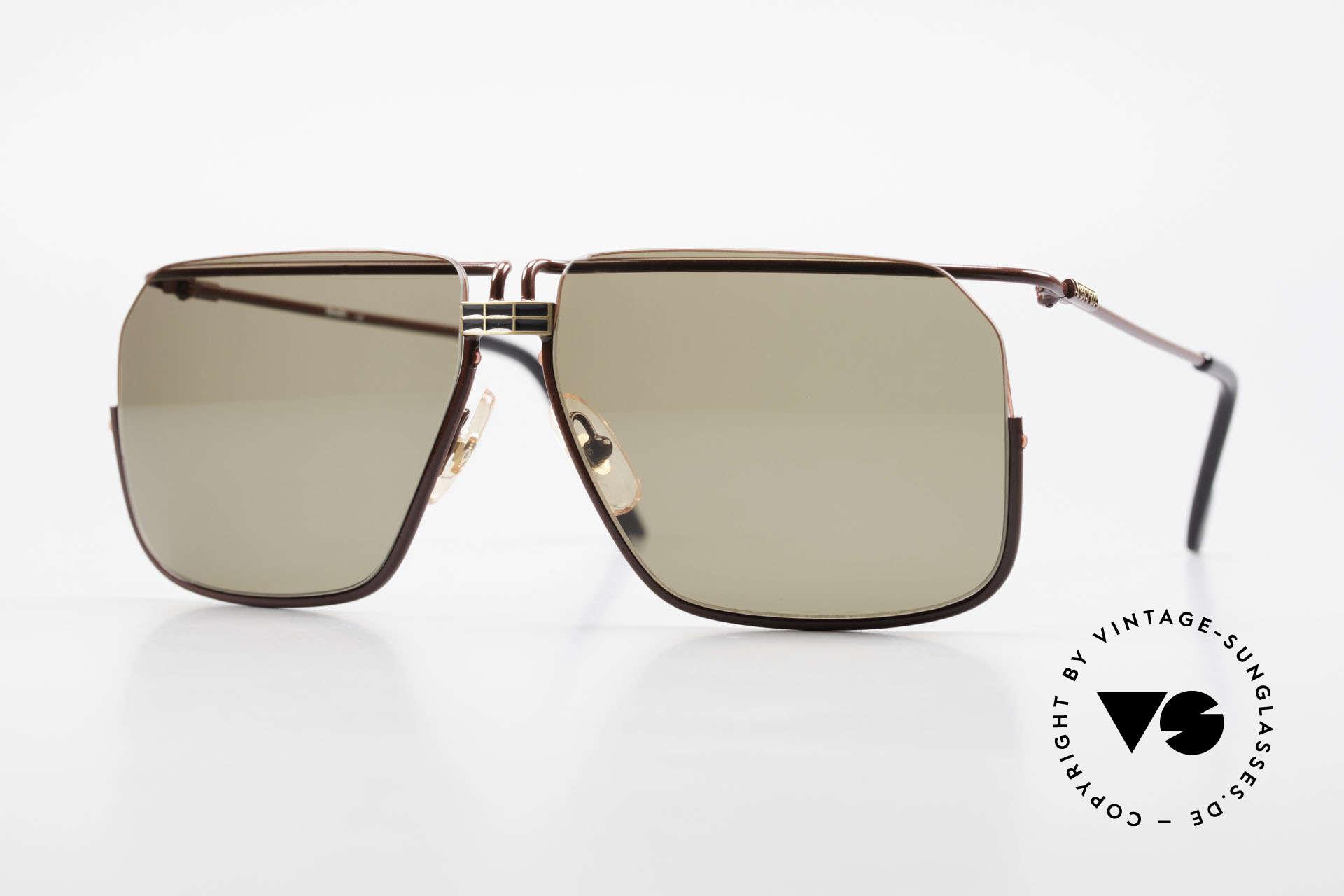 Ferrari F18/S Ferrari Formel 1 Sonnenbrille, markante 90er Jahre vintage Sonnenbrille von FERRARI, Passend für Herren