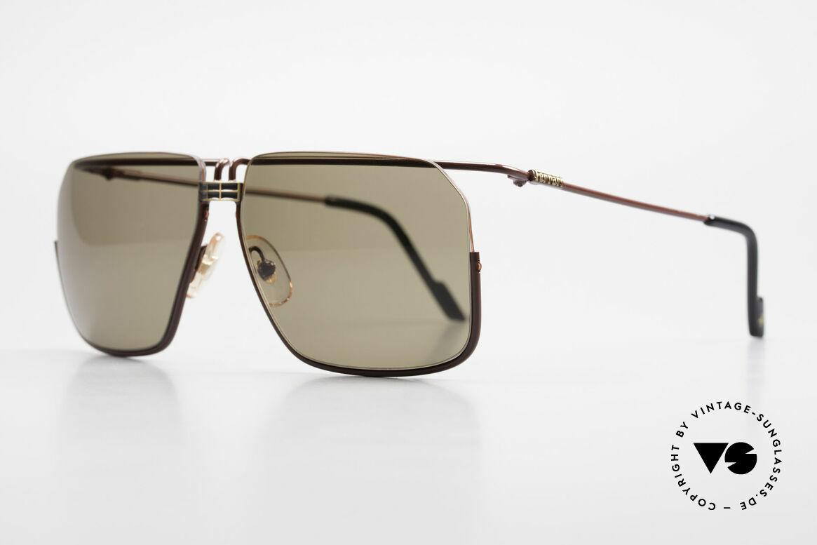 Ferrari F18/S Ferrari Formel 1 Sonnenbrille, feinste Qualität und Materialien aus Italien, Gr. 62°14, Passend für Herren