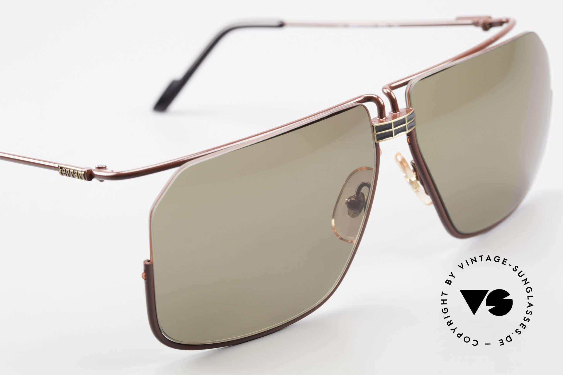 Ferrari F18/S Ferrari Formel 1 Sonnenbrille, KEINE Retro Sonnenbrille; ein altes 90er Jahre Original!, Passend für Herren