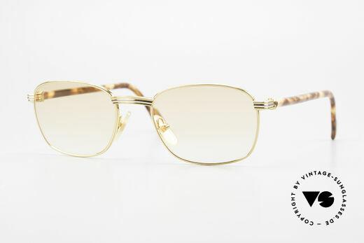 Cartier Aube Luxus Brille In Orange Verlauf Details