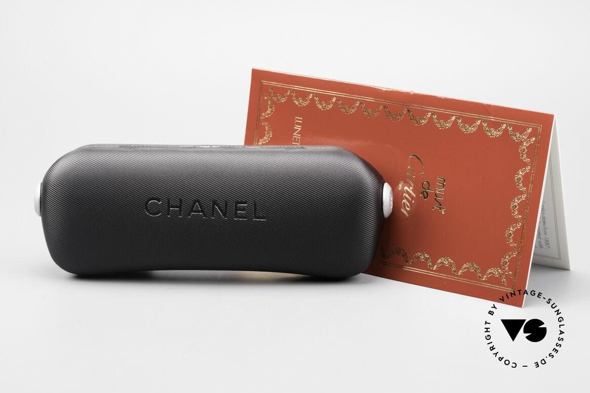 Cartier Aube Luxus Brille In Orange Verlauf, Größe: small, Passend für Herren