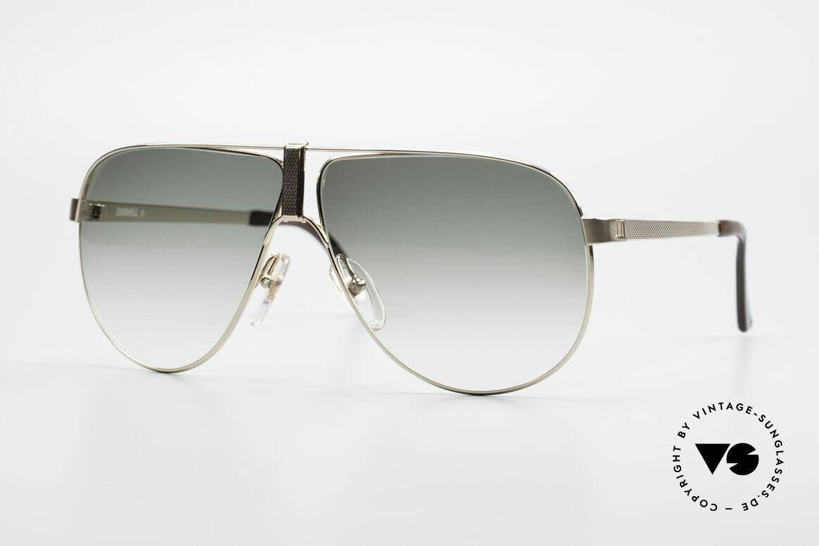 Dunhill 6043 Vergoldete Sonnenbrille 90er, außergewöhnlich schöne Dunhill Herren-Sonnenbrille, Passend für Herren