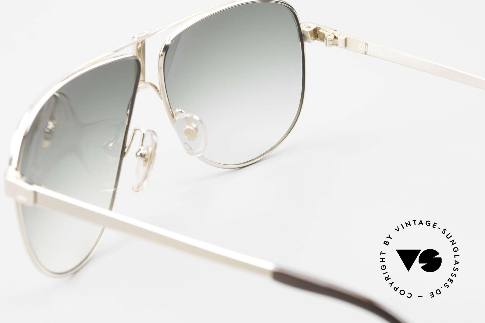 Dunhill 6043 Vergoldete Sonnenbrille 90er, ungetragenes, altes Original von 1990 (KEIN RETRO!), Passend für Herren