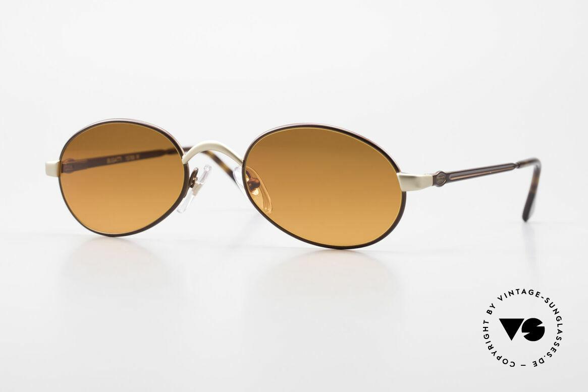 Bugatti 15769 Bronze Braun Metallic Fassung, sehr elegante vintage Sonnenbrille von Bugatti, Passend für Herren und Damen