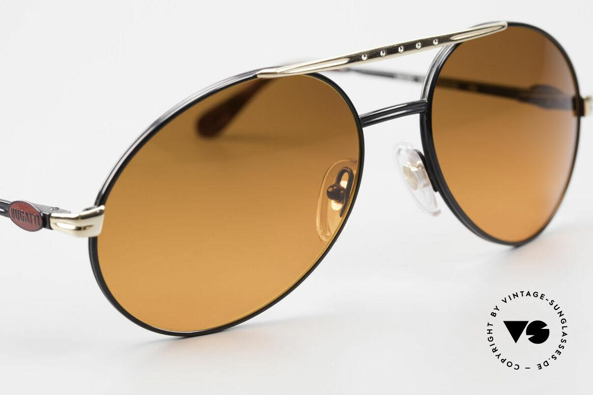 Bugatti 02927 Sunset Sonnengläser Rarität, ungetragen inkl. Etui (wie alle unsere Bugatti Brillen), Passend für Herren