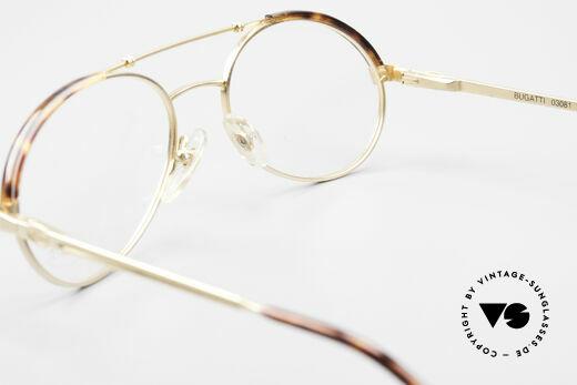 Bugatti 03081 90er Herren Brille True Vintage, KEINE Retrobrille; ein 30 Jahre altes ORIGINAL!, Passend für Herren