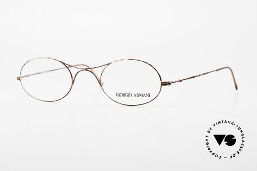 Giorgio Armani 229 Die Schubert Brille von Armani Details