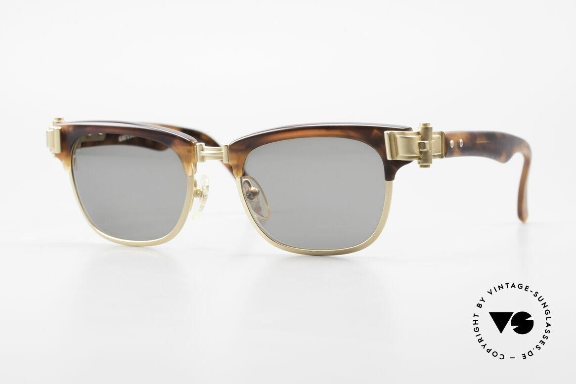 Jean Paul Gaultier 56-5202 JPG Designer Sonnenbrille, extrem stabile Designer-Sonnenbrille von Gaultier, Passend für Herren und Damen