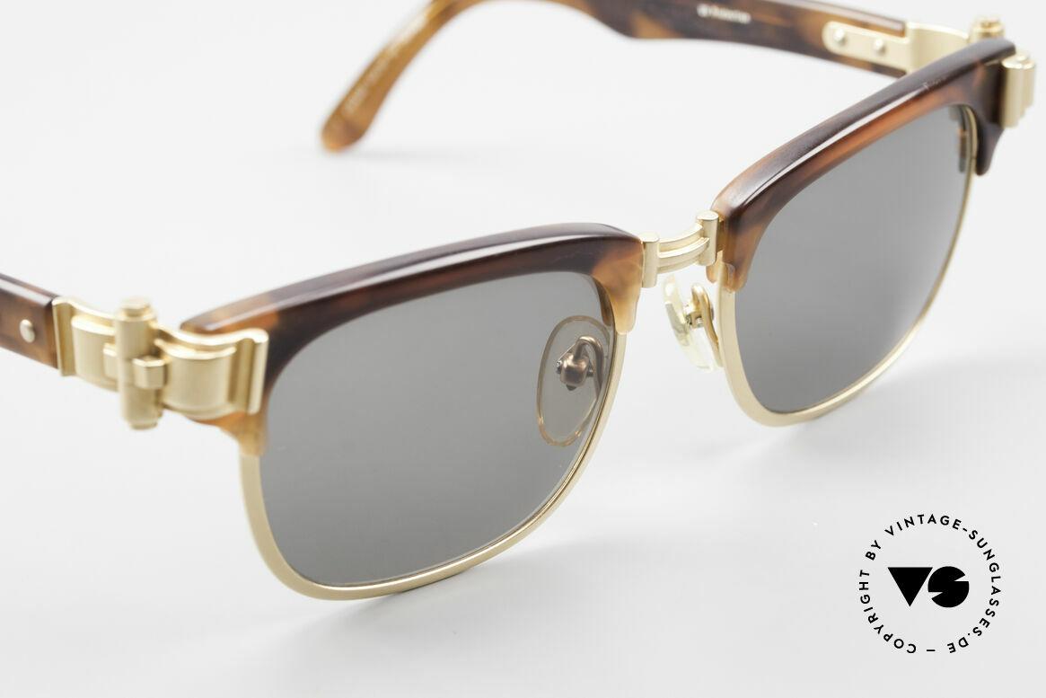Jean Paul Gaultier 56-5202 JPG Designer Sonnenbrille, KEINE Retrobrille, sondern ein ORIGINAL von 1992, Passend für Herren und Damen