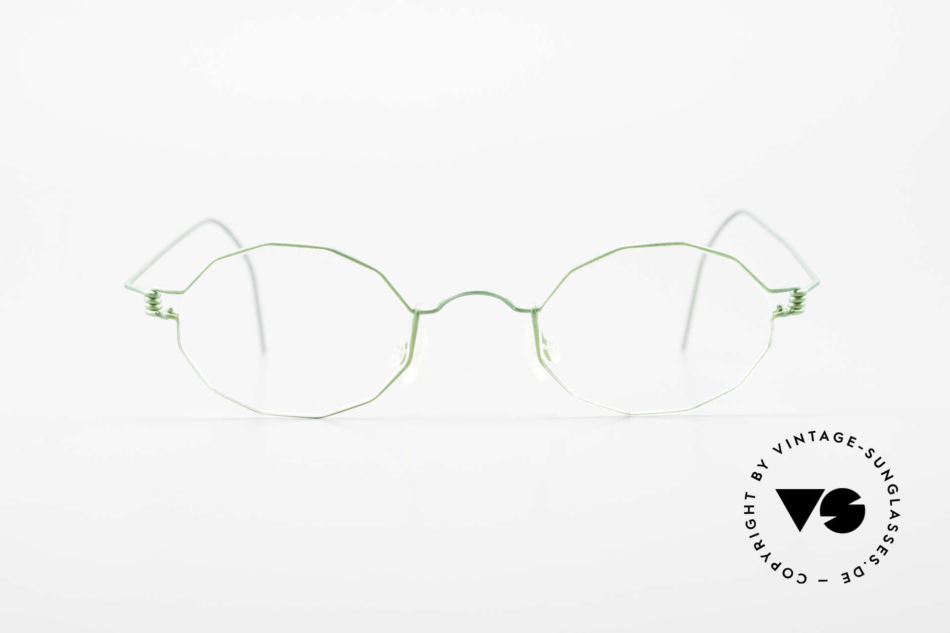 Lindberg Zeta Air Titan Rim Kleine Titanium Brille Unisex, vielfach ausgezeichnet hinsichtlich Qualität und Design, Passend für Herren und Damen
