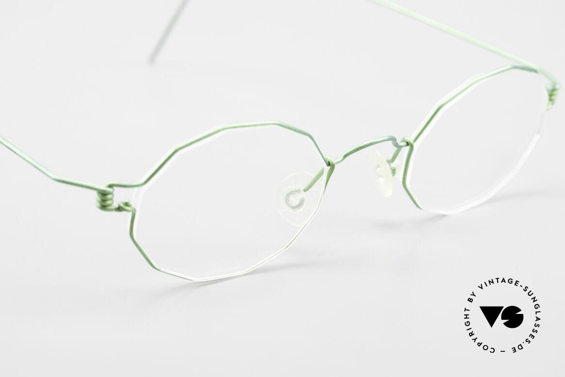 Lindberg Zeta Air Titan Rim Kleine Titanium Brille Unisex, ungetragenes Designerstück + orig. Lindberg Magnet-Etui, Passend für Herren und Damen