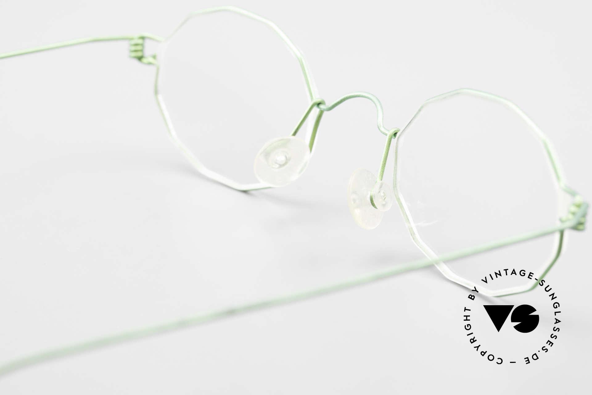 Lindberg Zeta Air Titan Rim Kleine Titanium Brille Unisex, eleganter Rahmen ohne Schrauben, Nieten oder Lötungen, Passend für Herren und Damen