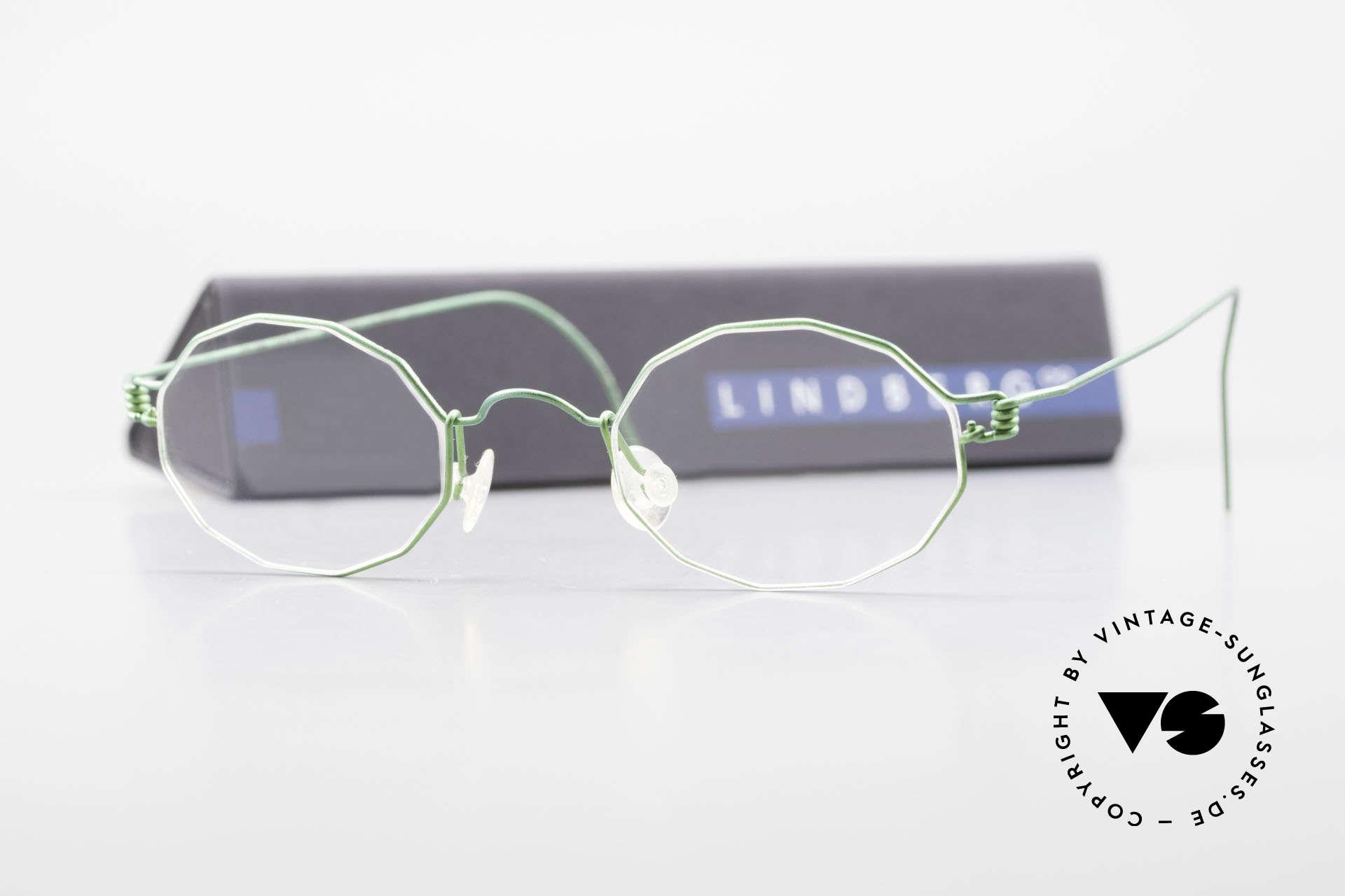 Lindberg Zeta Air Titan Rim Kleine Titanium Brille Unisex, Größe: small, Passend für Herren und Damen