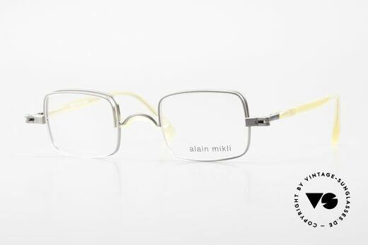 Alain Mikli 0115 / 01 Aufklappbare Gläser 2in1 Brille Details