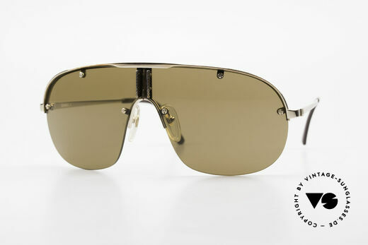 Dunhill 6102 90er Gentleman Sonnenbrille Details