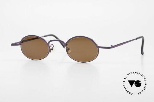 Theo Belgium San 90er Designer Sonnenbrille Details