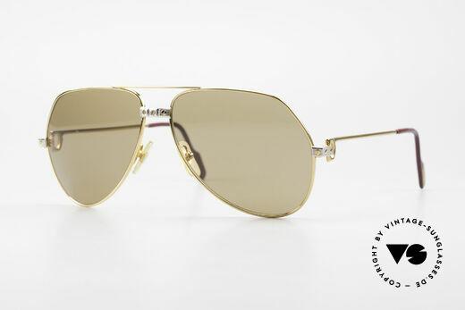 Cartier Vendome Santos - L Luxus Gläser mit Hauchzeichen Details