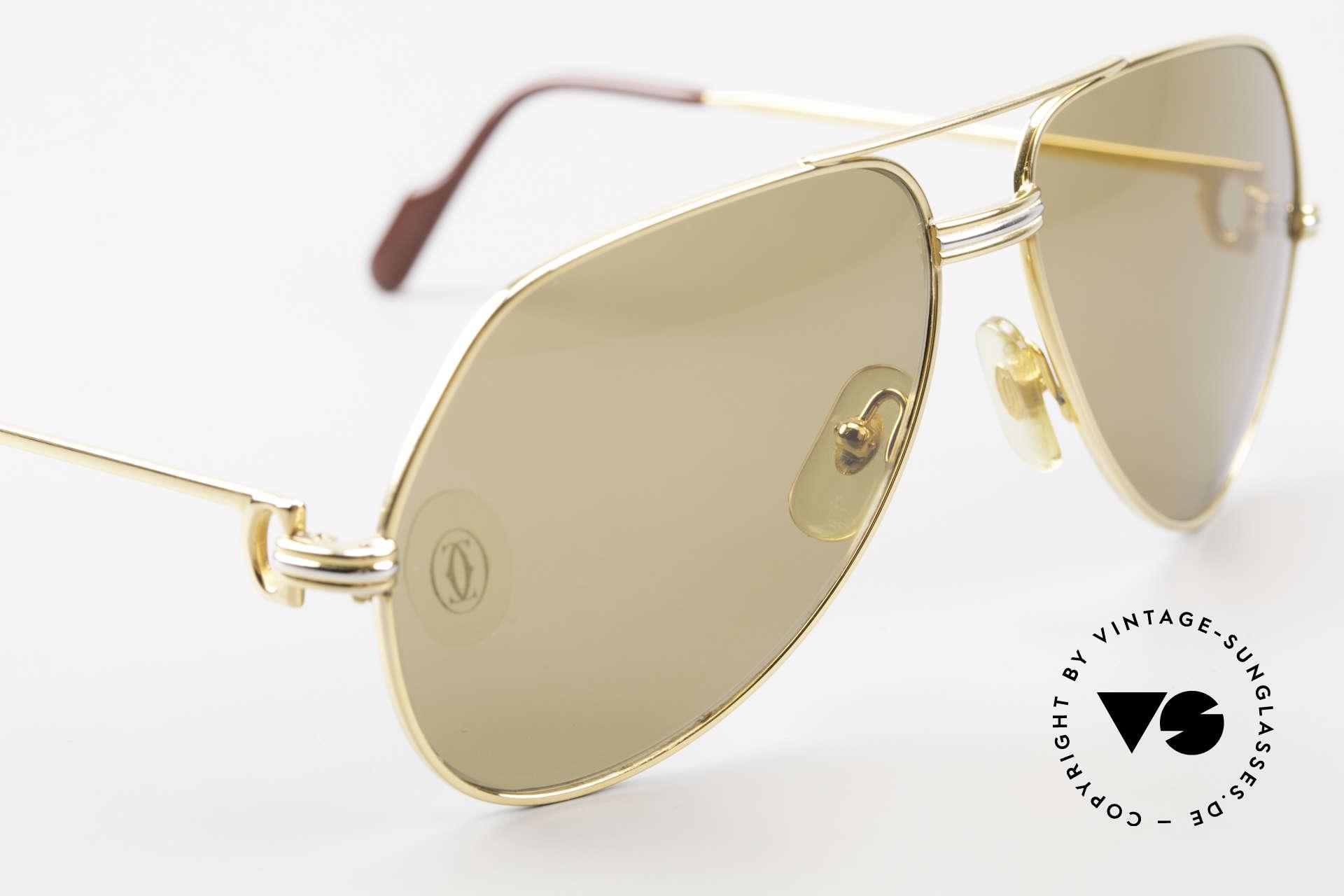 Cartier Vendome LC - M Cartierglas Mit Hauch Zeichen, Gläser anhauchen und das CARTIER-Logo wird sichtbar, Passend für Herren