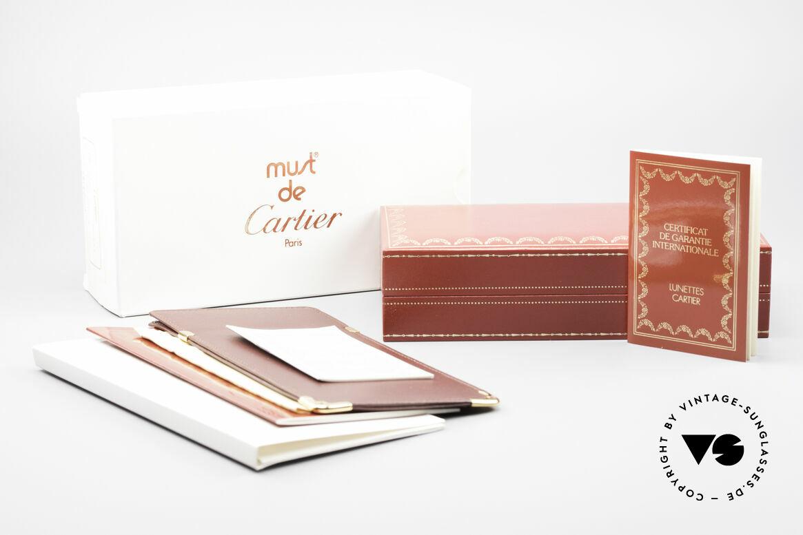 Cartier Vendome LC - M Cartierglas Mit Hauch Zeichen, Größe: medium, Passend für Herren