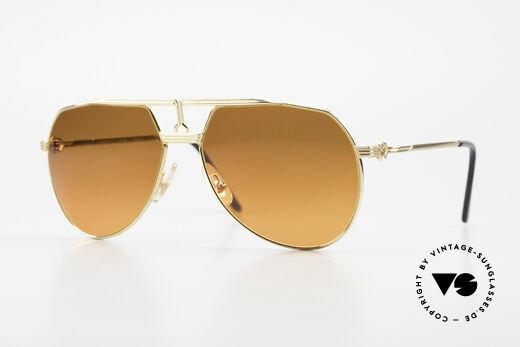 Maserati 6130 Luxus Aviator Sonnenbrille Details