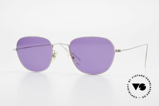 Cutler And Gross 0307 Klassische Vintage Brille 90er Details
