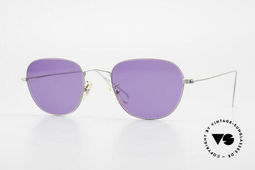 Cutler And Gross 0307 Klassische Vintage Brille 90er Details