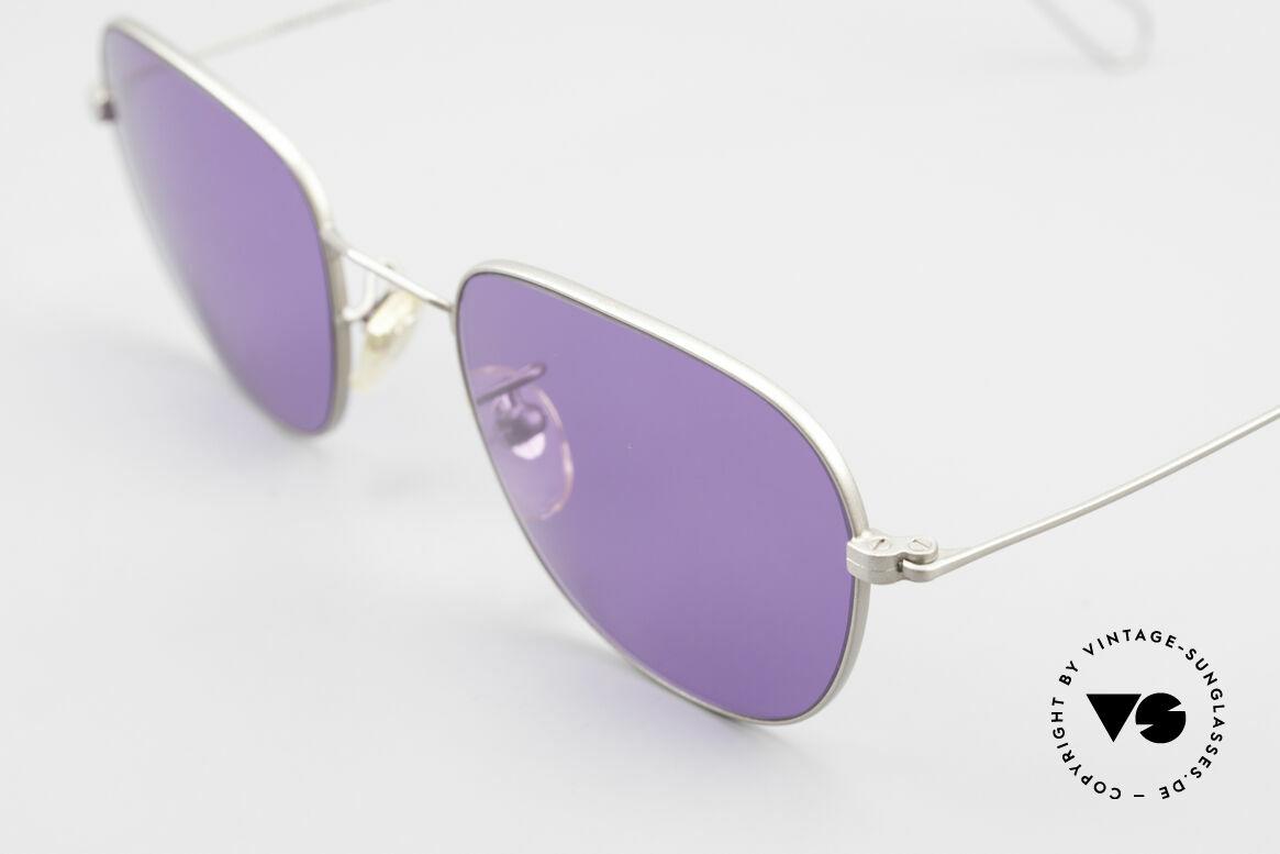 Cutler And Gross 0307 Klassische Vintage Brille 90er, Materialien und deren Verarbeitung auf Spitzen-Niveau, Passend für Herren und Damen
