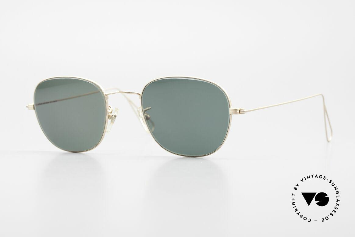 Cutler And Gross 0307 Klassische 90er Vintage Brille, Cutler & Gross London Designerbrille der späten 90er, Passend für Herren und Damen