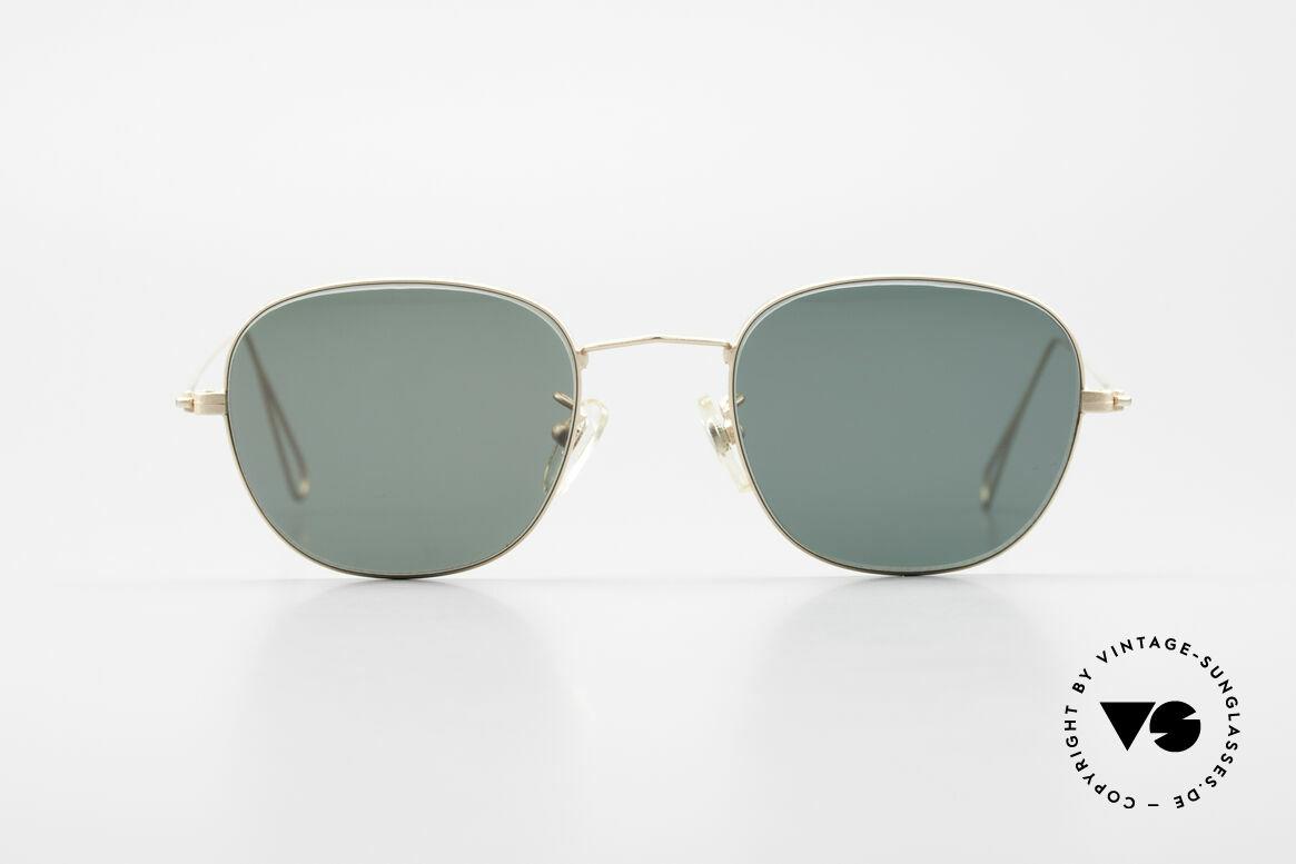 Cutler And Gross 0307 Klassische 90er Vintage Brille, klassisch, zeitlose Understatement Luxus-Sonnenbrille, Passend für Herren und Damen