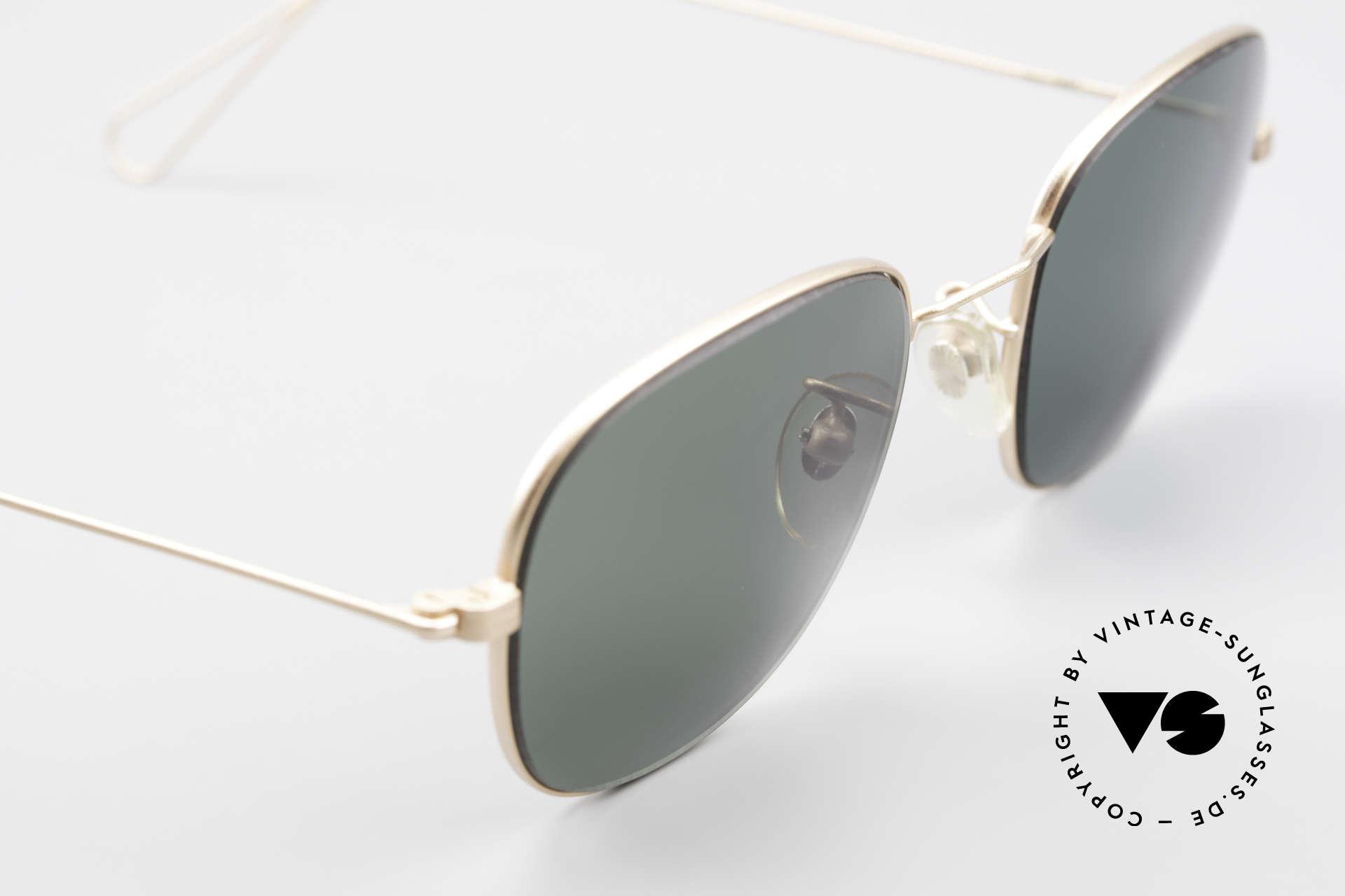 Cutler And Gross 0307 Klassische 90er Vintage Brille, ungetragen; Modell ist auch beliebig optisch verglasbar, Passend für Herren und Damen