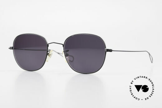 Cutler And Gross 0307 Alte Vintage Sonnenbrille 90er Details