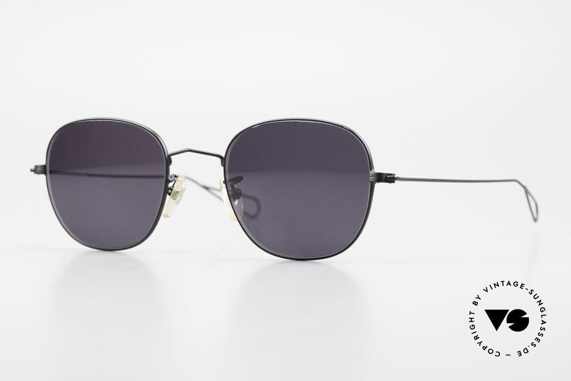 Cutler And Gross 0307 Alte Vintage Sonnenbrille 90er, Cutler & Gross London Designerbrille der späten 90er, Passend für Herren und Damen