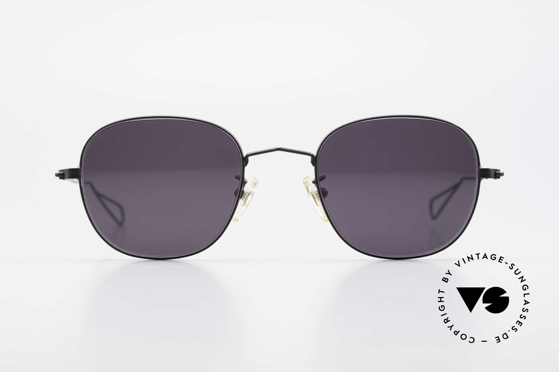 Cutler And Gross 0307 Alte Vintage Sonnenbrille 90er, klassisch, zeitlose Understatement Luxus-Sonnenbrille, Passend für Herren und Damen
