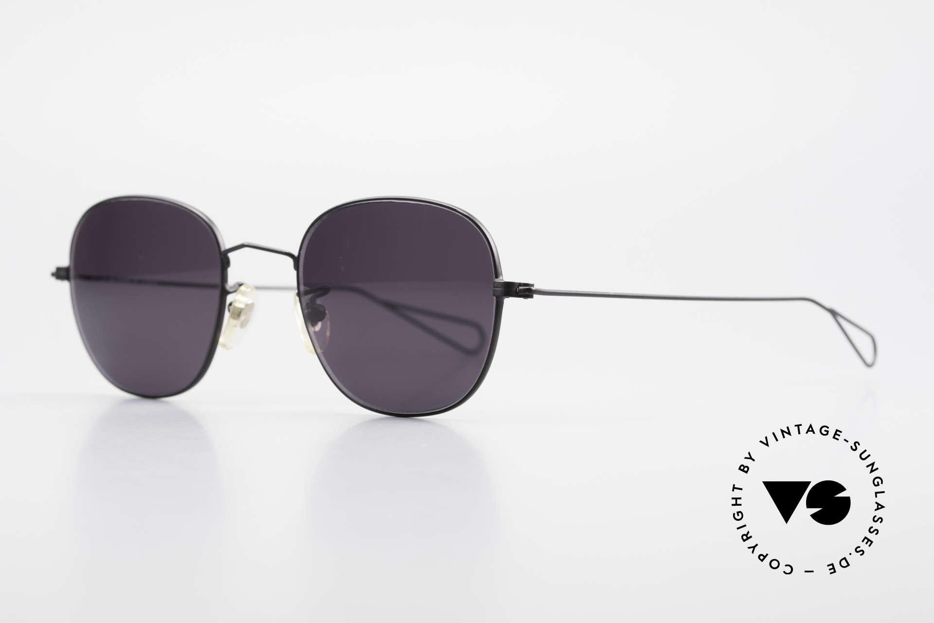 Cutler And Gross 0307 Alte Vintage Sonnenbrille 90er, stilvoll & unverwechselbar; auch ohne pompöse Logos, Passend für Herren und Damen