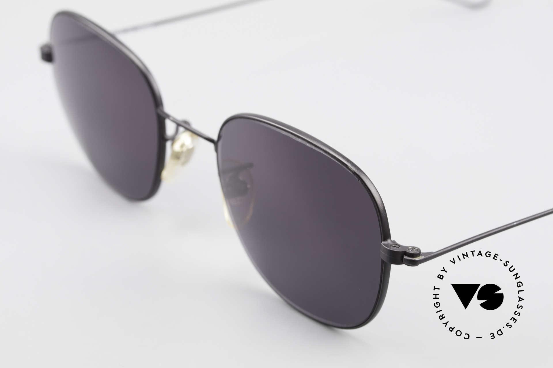 Cutler And Gross 0307 Alte Vintage Sonnenbrille 90er, Materialien und deren Verarbeitung auf Spitzen-Niveau, Passend für Herren und Damen