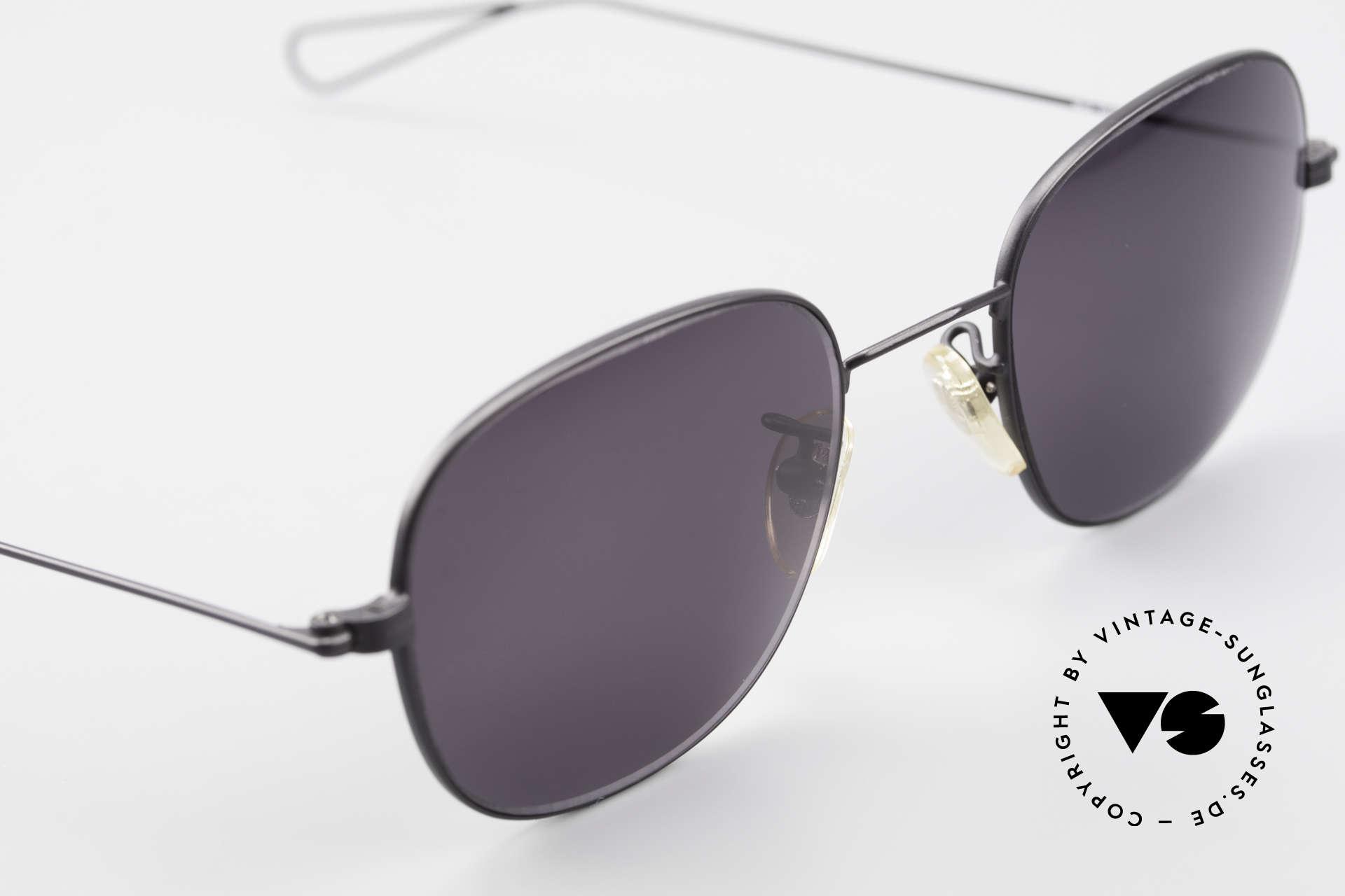Cutler And Gross 0307 Alte Vintage Sonnenbrille 90er, ungetragen; Modell ist auch beliebig optisch verglasbar, Passend für Herren und Damen