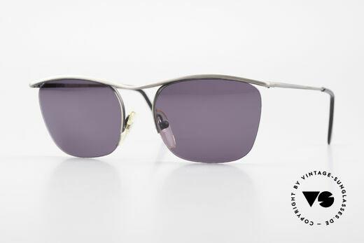 Cutler And Gross 0267 Halb Rahmenlose Sonnenbrille Details