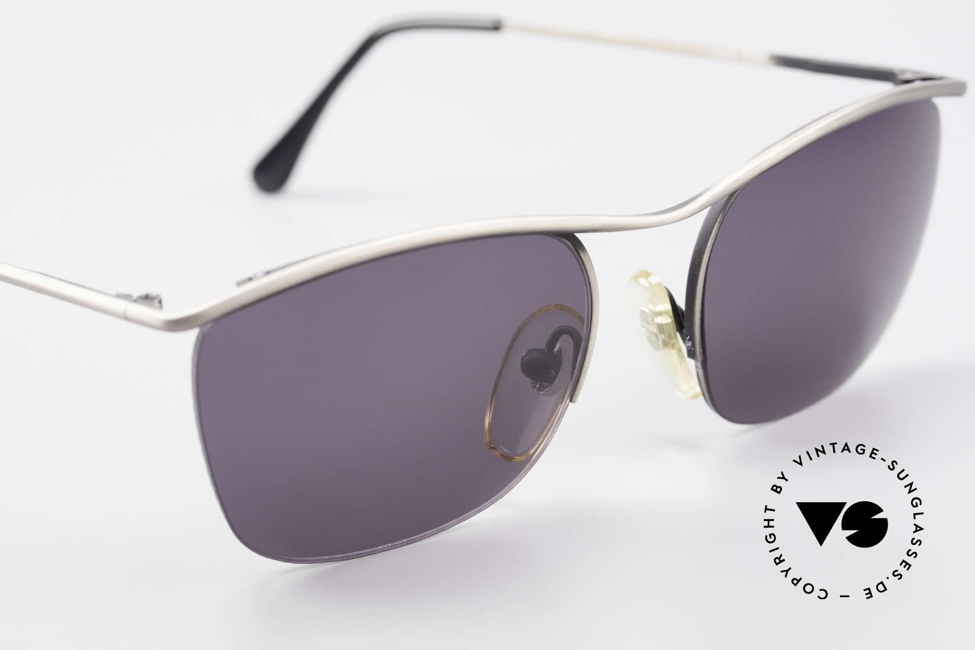 Cutler And Gross 0267 Halb Rahmenlose Sonnenbrille, ungetragen; Modell ist auch beliebig optisch verglasbar, Passend für Herren und Damen