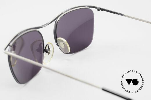 Cutler And Gross 0267 Halb Rahmenlose Sonnenbrille, KEINE Retrobrille, sondern ein 20 Jahre altes Original!, Passend für Herren und Damen