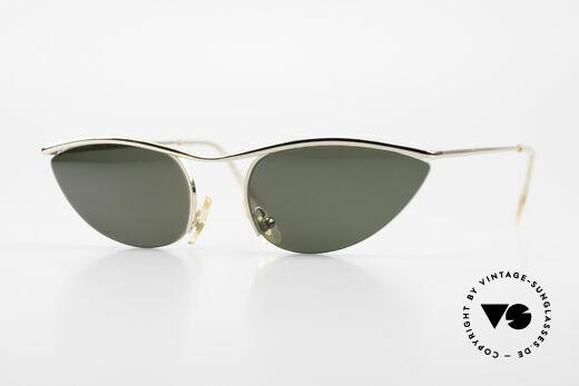 Cutler And Gross 0359 Cateye Designer Sonnenbrille Details