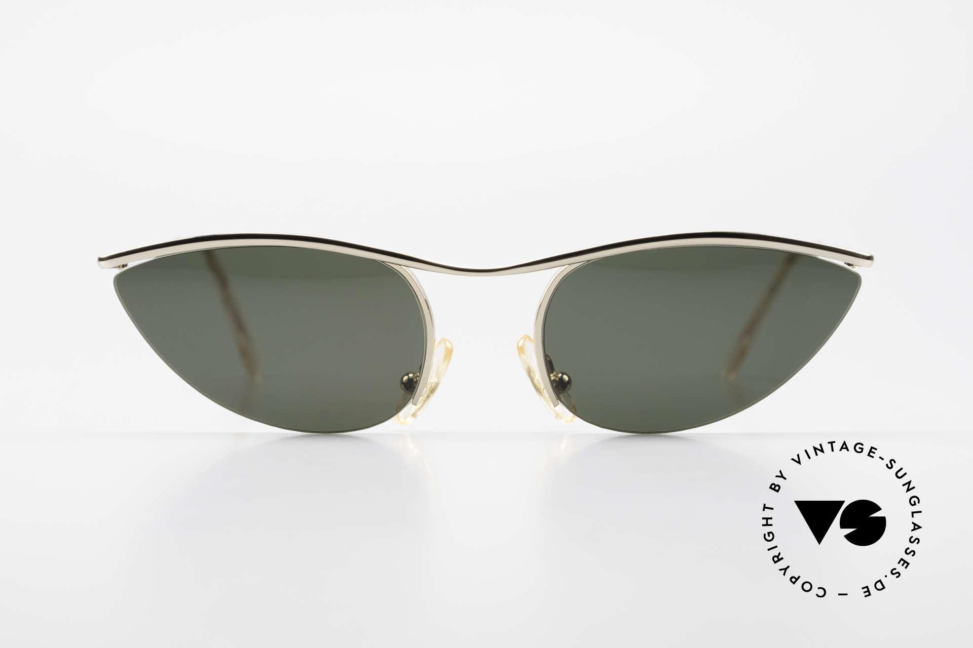 Cutler And Gross 0359 Cateye Designer Sonnenbrille, klassisch, zeitlose Understatement Luxus-Sonnenbrille, Passend für Damen