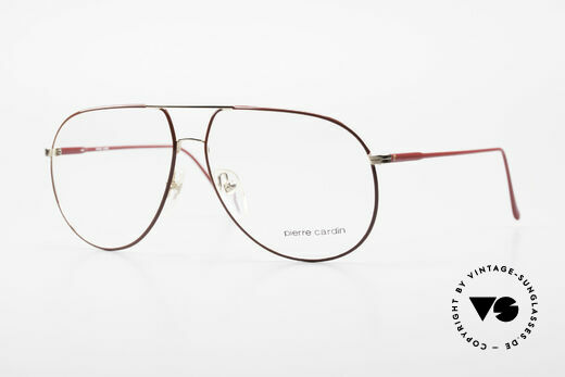 Pierre Cardin 223 80er Herrenbrille Tropfenform Details